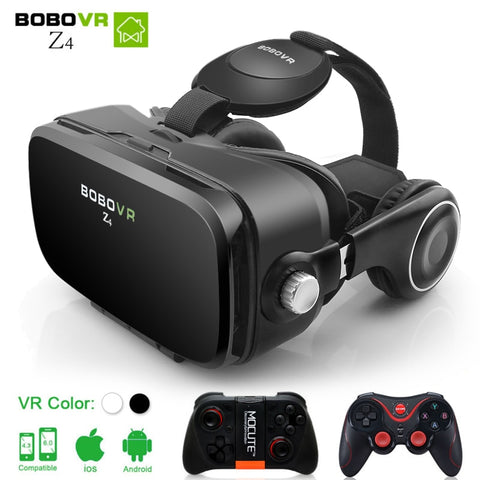 Deluxe Virtual Reality Goggles With Headphones And Controller - It's From The Shop