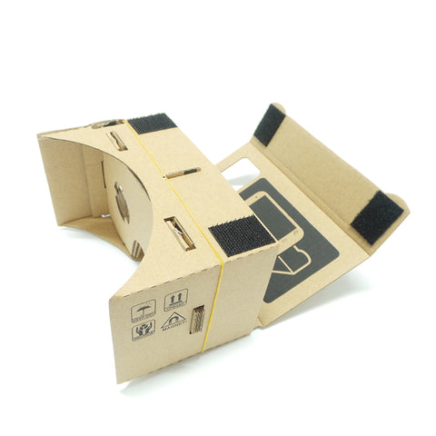 Google Cardboard 3D Virtual Reality Goggles For iPhone & Android - It's From The Shop