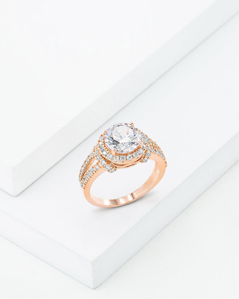 Julia Ring, Rose Gold