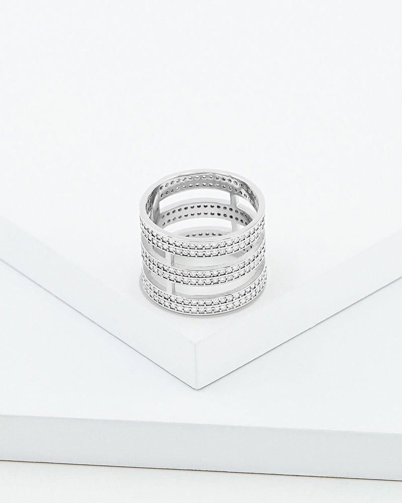 Jessa Triple Strand Ring