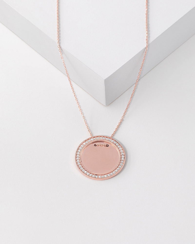 Hope Medallion Necklace