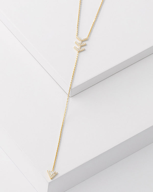 Candice Drop Necklace