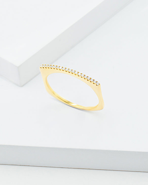 Tia Bar Ring
