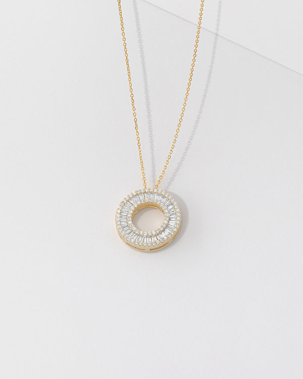 Odette Ring Necklace