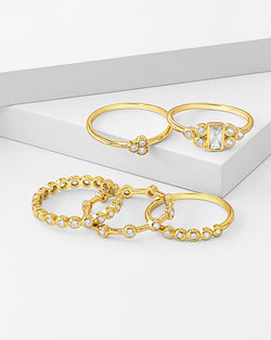 Sahara Stackable Ring Set