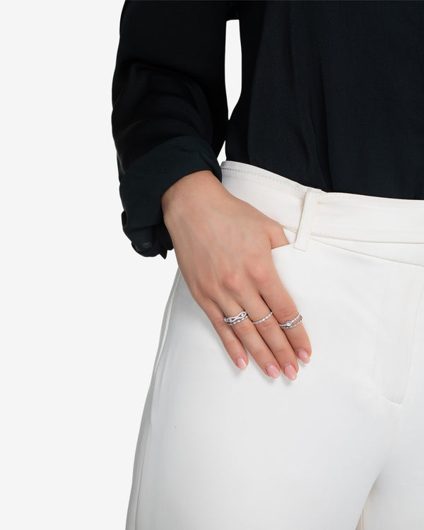 Natalia Stackable Ring Set Gold