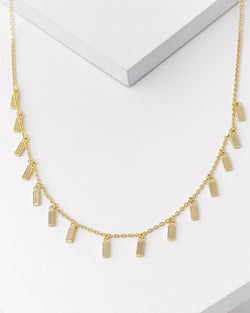 Tessa Bar Dangle Necklace