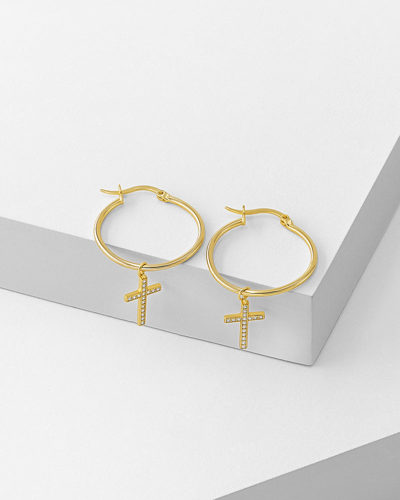 Isabel Cross Earrings