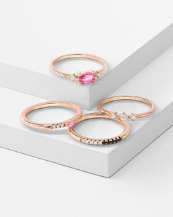 Chanel Stackable Ring Set