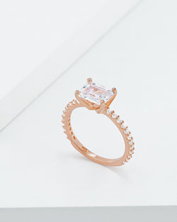 Vera Princess Cut Ring