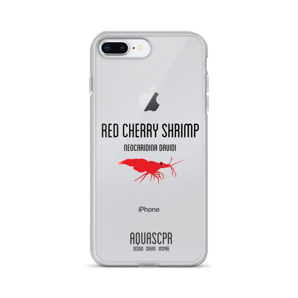 Red Cherry Shrimp iPhone Case
