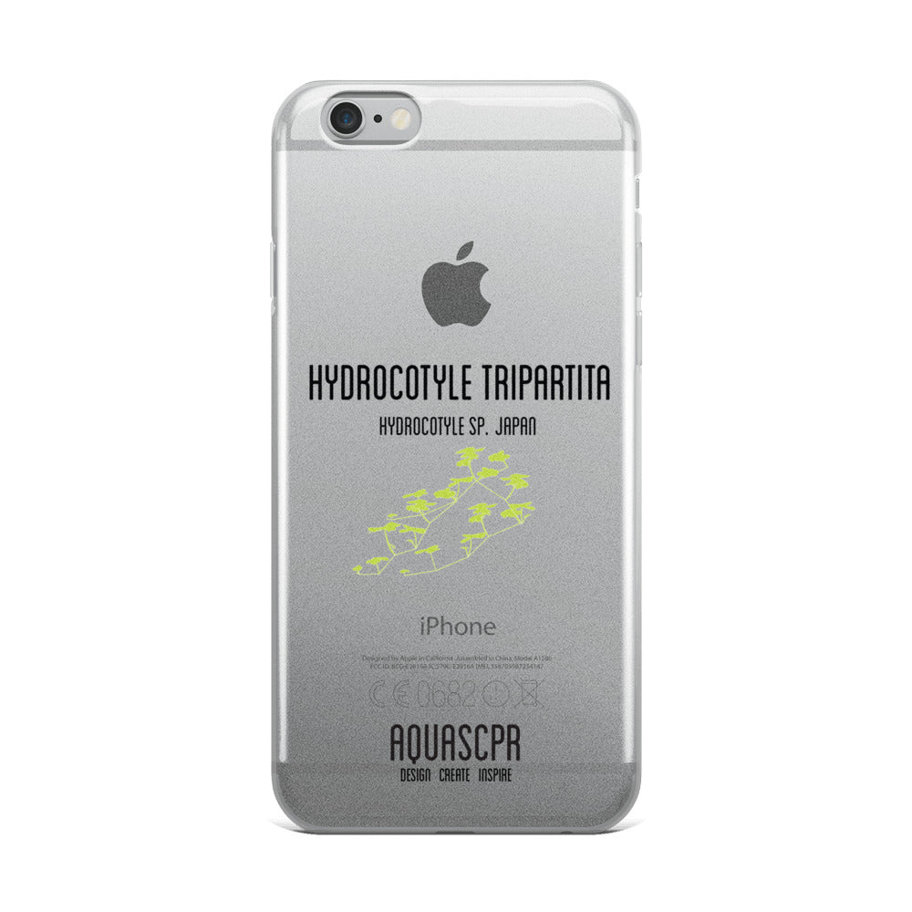 Hydrocotyle iPhone Case