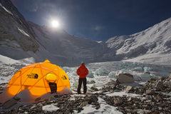 Camp 2 on Mt Everest