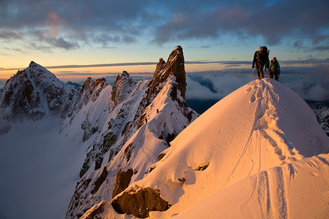 Kuffner Arete at Sunrise