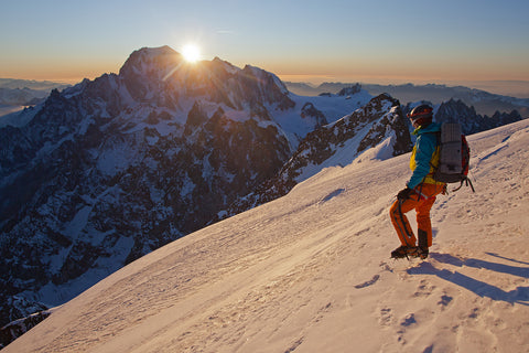 Grandes Jorasses Sunset