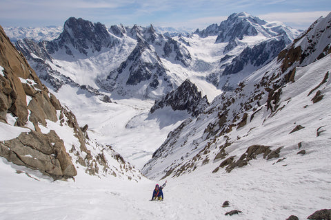 Whymper Couloir- Aiguille Verte