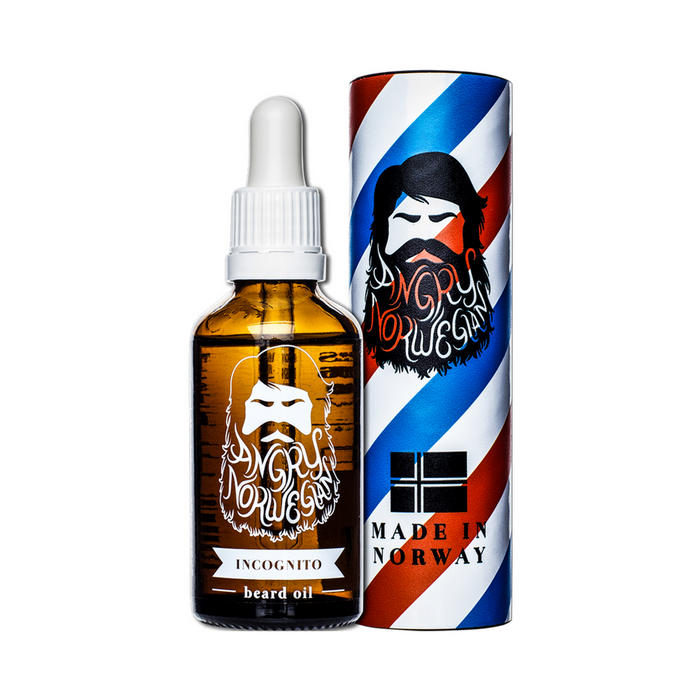 Angry Norwegian Incognito partaöljy 50ml