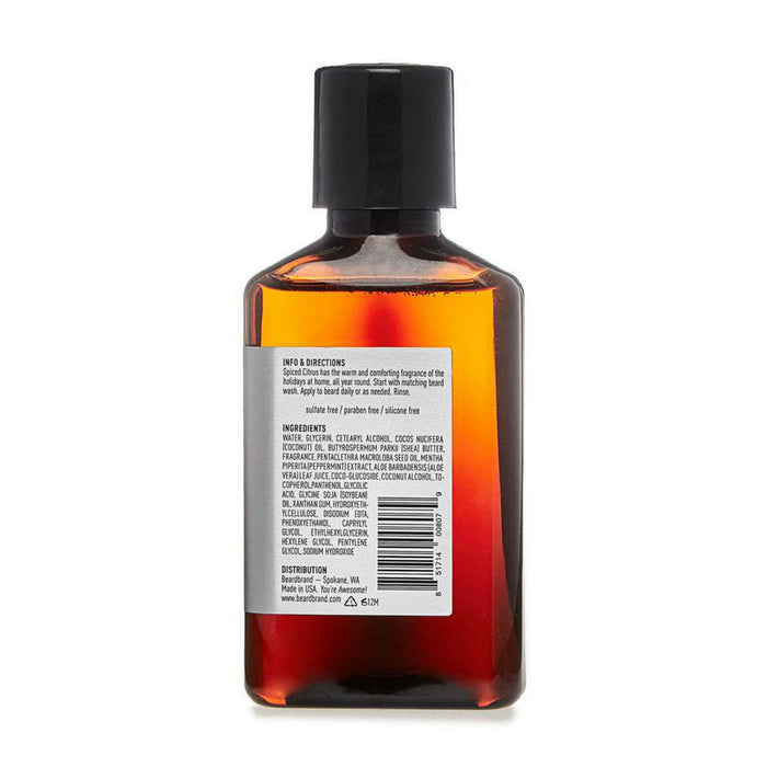 Beardbrand Spiced Citrus partashampoo 100ml