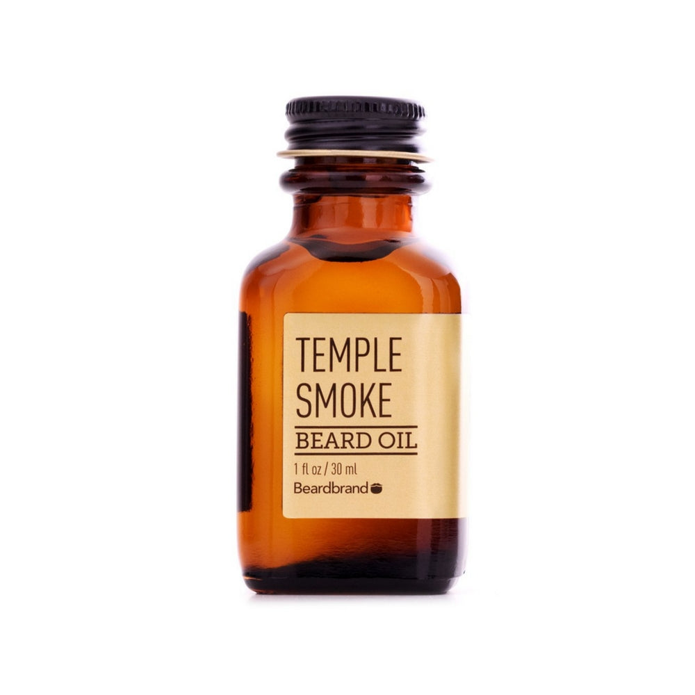 Beardbrand Temple Smoke partaöljy 30ml