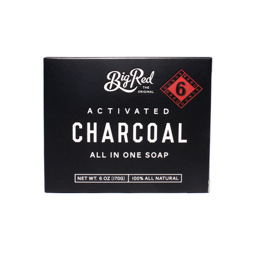 Big Red Charcoal palasaippua 170g