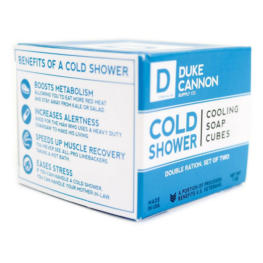 Duke Cannon Cold Shower saippuakuutiot 200g