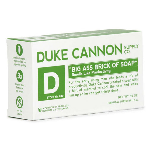 Duke Cannon Productivity palasaippua 285g
