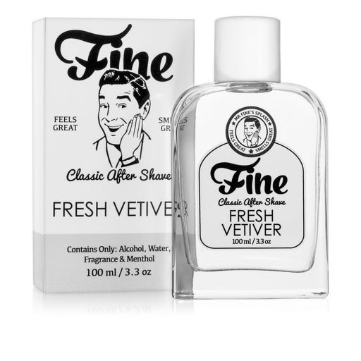 Fine Accoutrements Fresh Vetiver aftershave splash 100ml