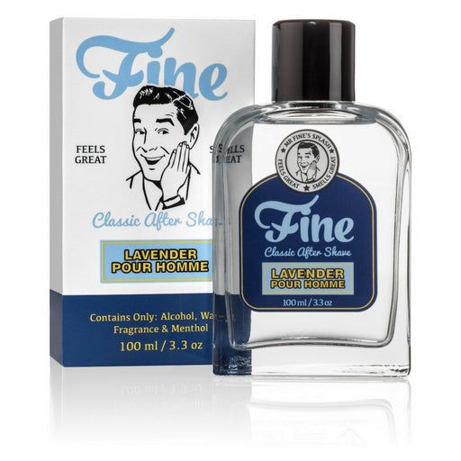 Fine Accoutrements Lavender Pour Homme aftershave splash 100ml