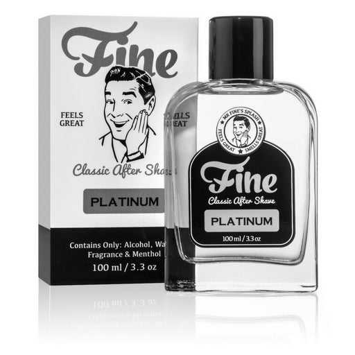 Fine Accoutrements Platinum aftershave splash 100ml