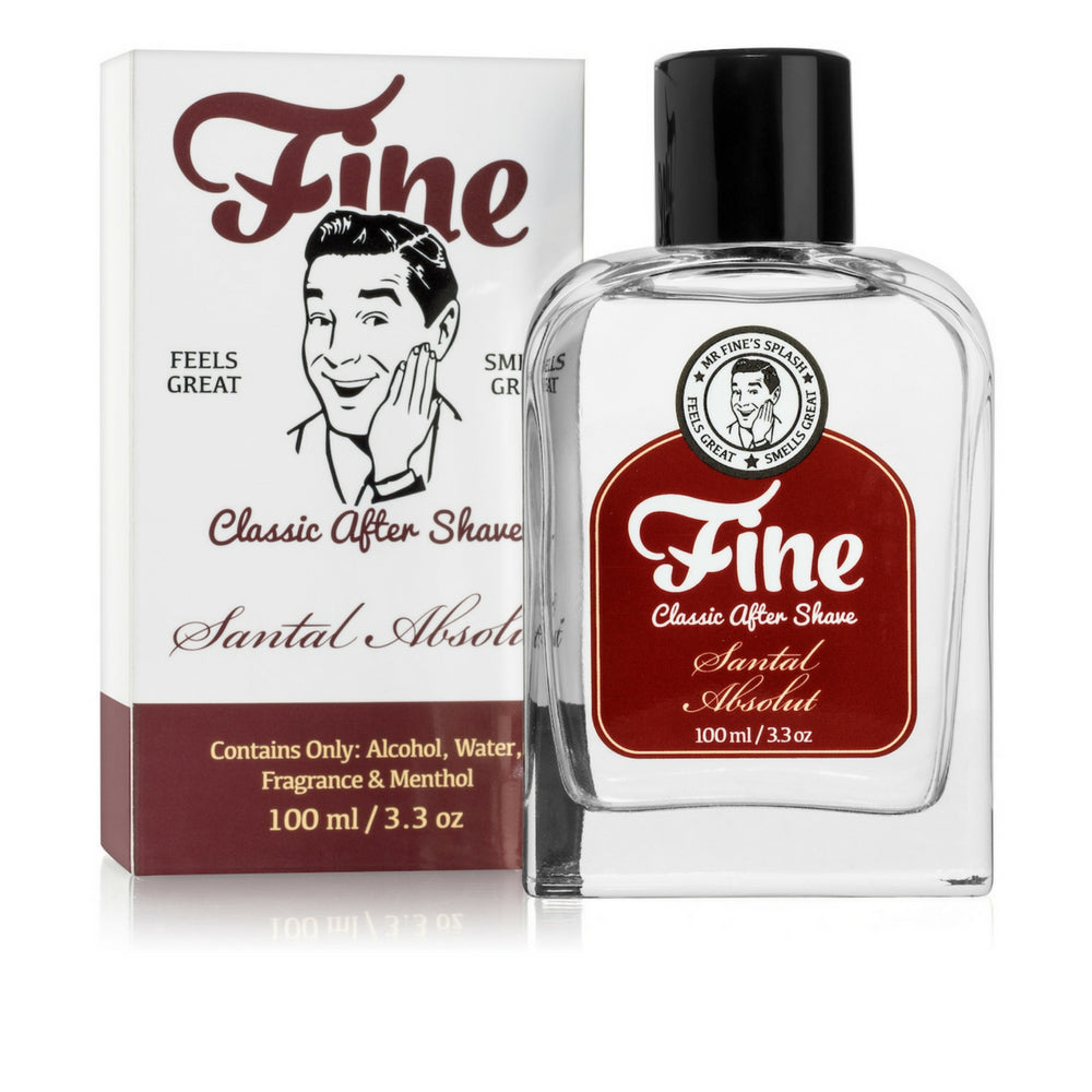 Fine Accoutrements Santal Absolut aftershave splash 100ml