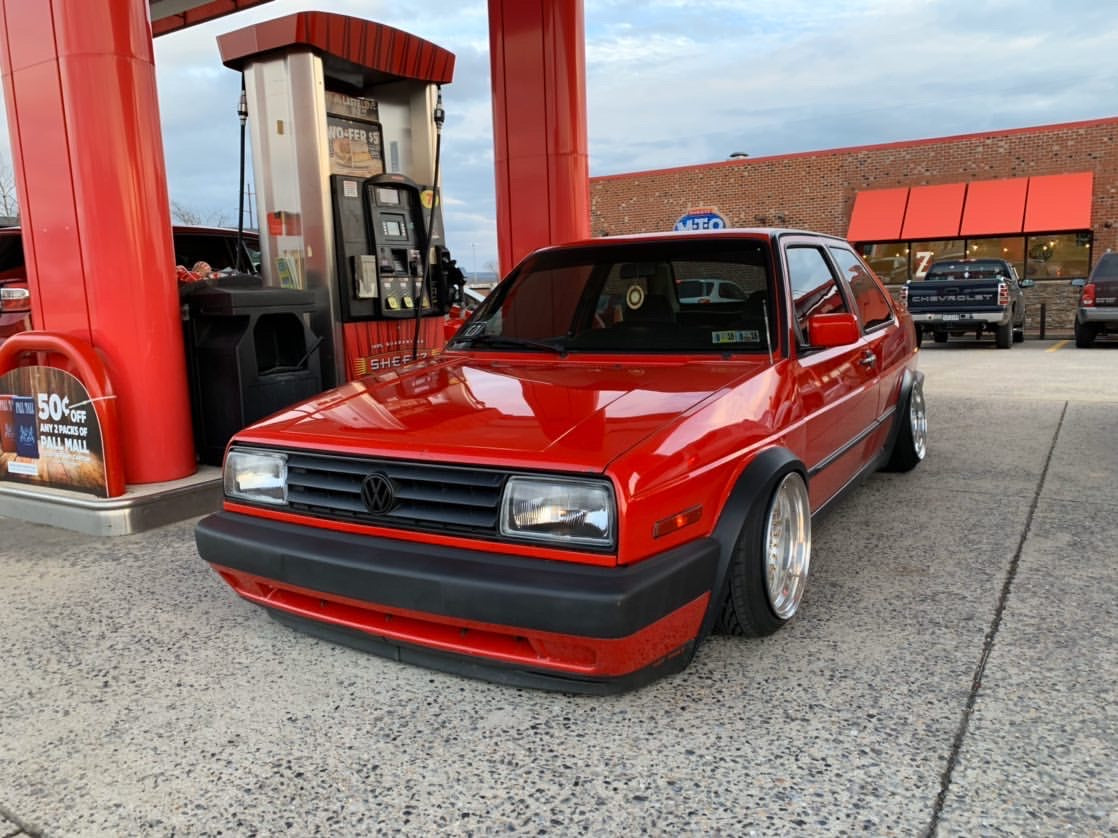 Slammed and Shaved - Allen's MK2 Jetta Coupe