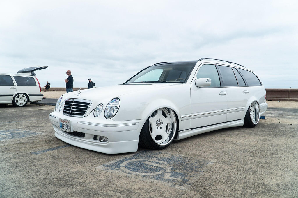 w210 wagon estate stance bagged amg