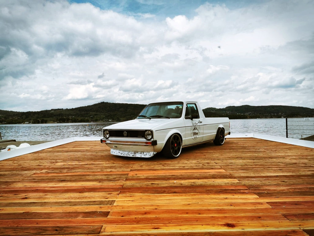 vw mk1 caddy stance worthersee treffen lake