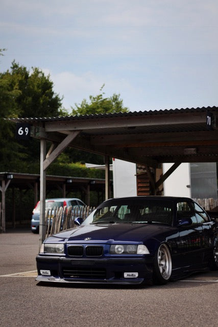 bmw e36 stance low hellaflush