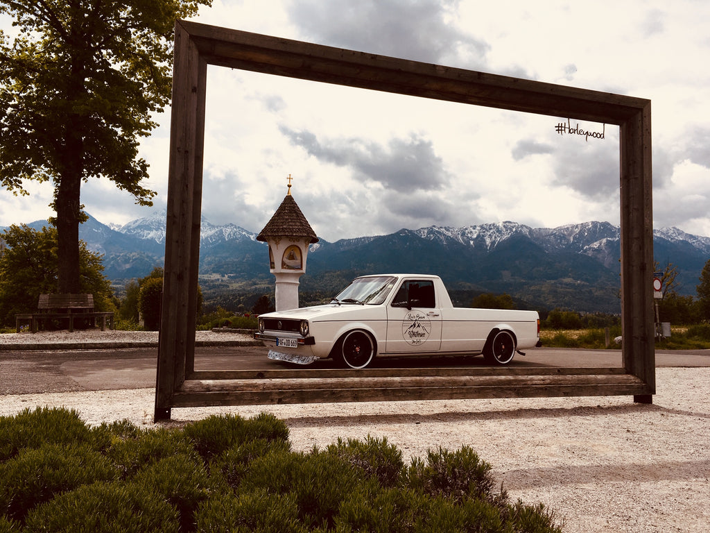 vw mk1 caddy worthersee stance photo