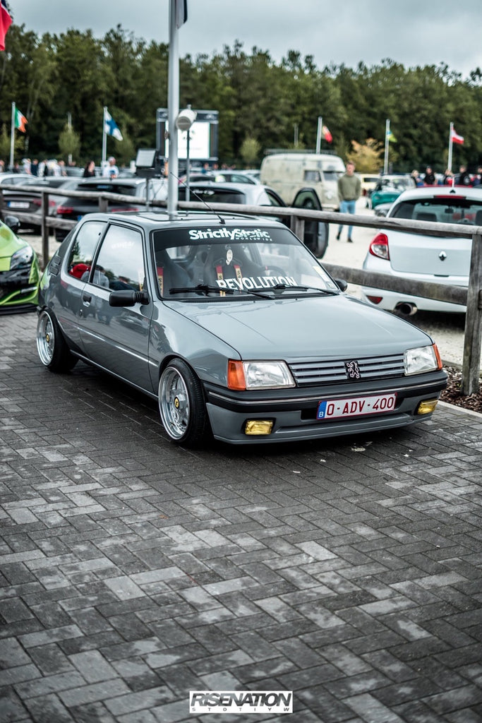 peugeot 205 gti stance