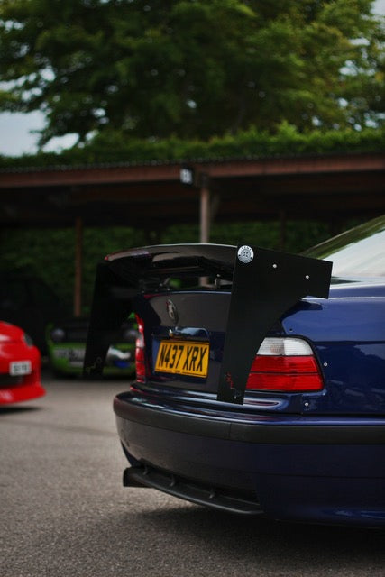 bmw e36 coupe custom wing spoiler