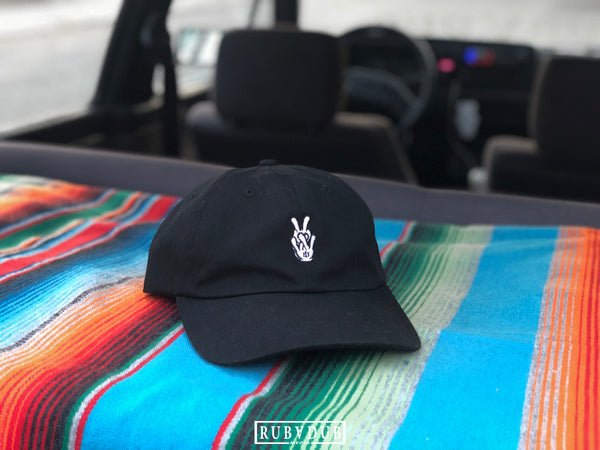 VW hands hat
