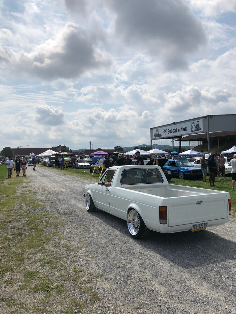 vw mk1 caddy vag fair york 2020 stance