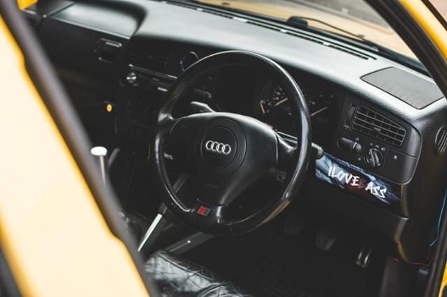 audi steering wheel in mk3