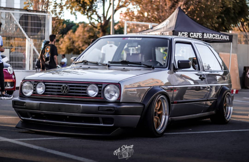 vw mk2 wide wheels rims stance deep dish