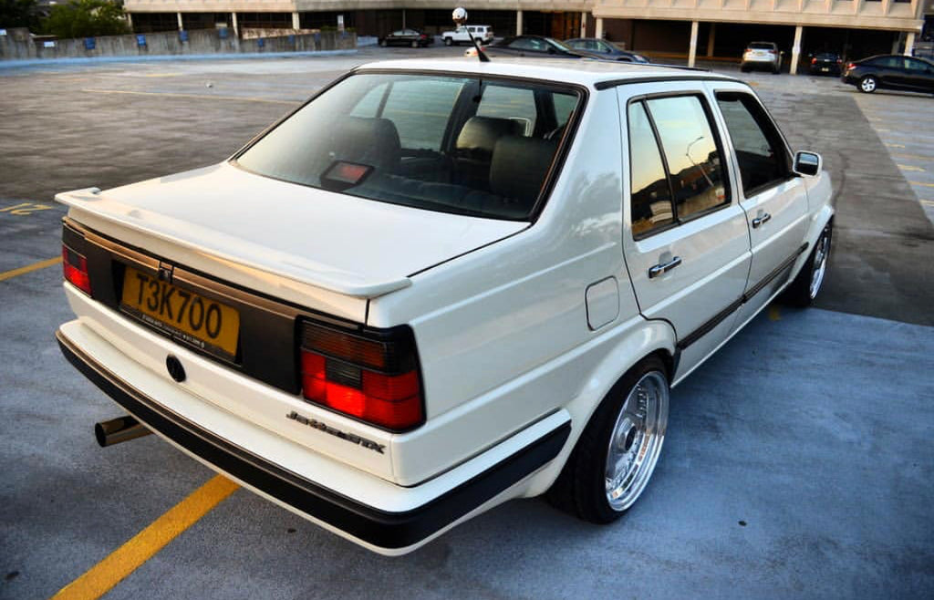 vw mk2 jetta rear borbet type a