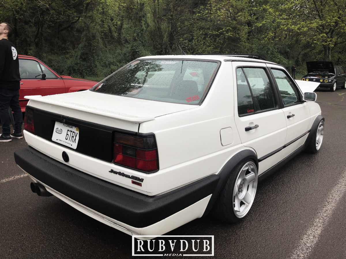 mk2 vr6 bagged jetta on schmidt wheels stance
