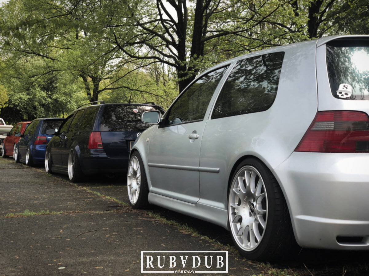 reflex silver mk4 r32 golf and mkiv stance