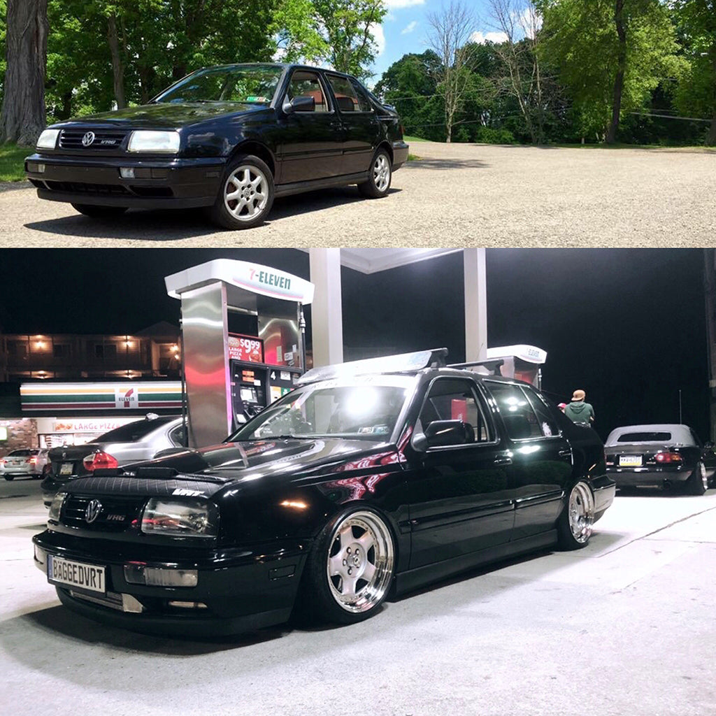 before after mk3 jetta build