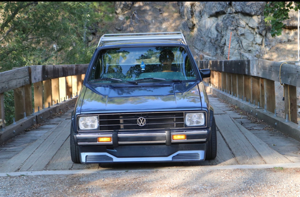 Drew S Early Mk1 Caddy Pickup With Vr6 And Kamei Goodies Rubadub Media