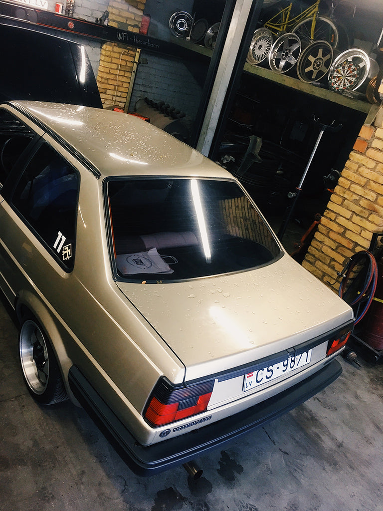 vw mk2 jetta coupe stance