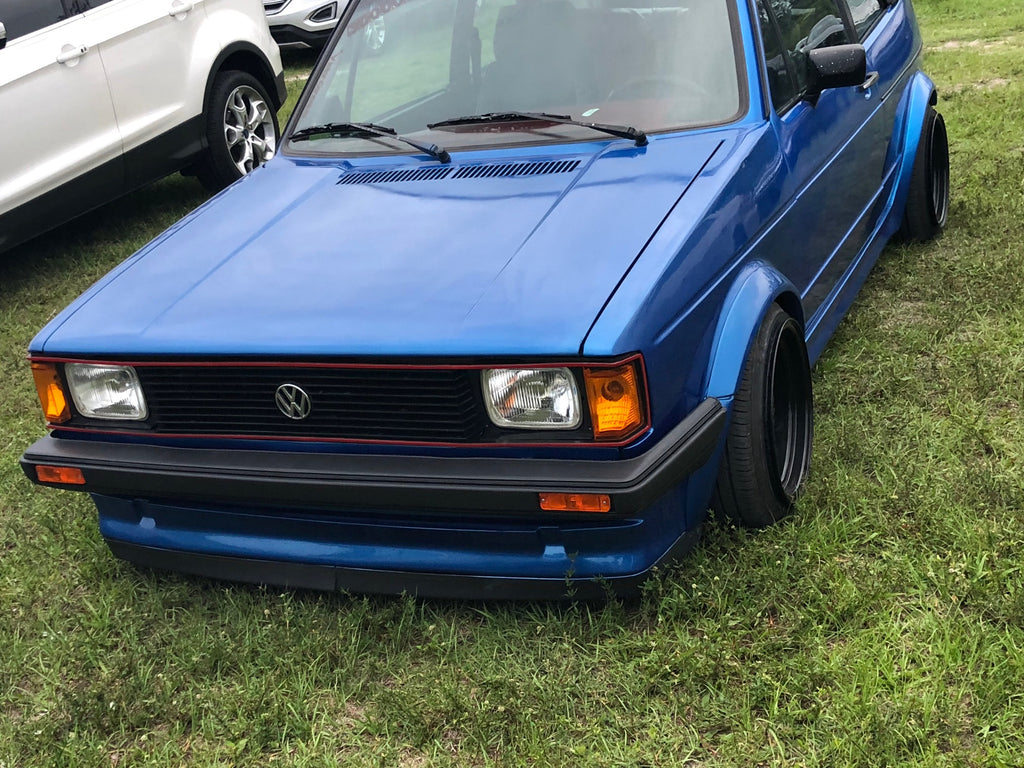 euro bumper mk1 with us gti headlights front