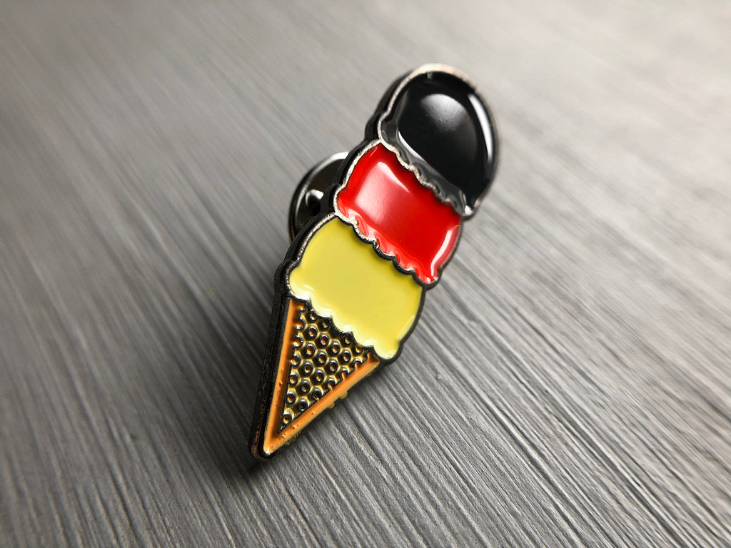 Deutsche Ice Cream Enamel Pin