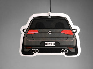 mk7 golf gti stance rear exhaust